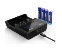 XTAR VC4S USB BATTERYCHARGER Li-ion / NiMH