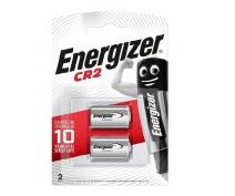 2 PIECES ENERGIZER CR2 LITHIUM BATTERY