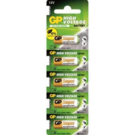 5 PCS GP23A, MN21, V23GA 12volt batteries