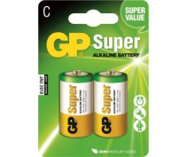GP 14AS LR14 SUPER ALKALINE