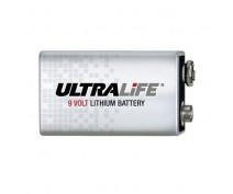 ULTRALIFE 9volt Lithium batterij