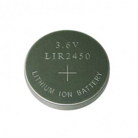 LIR2450 RECHARGEABLE LI-ION BUTTONCELL 3.6V