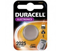 BUTTONCELL LITHIUM DURACELL CR2025