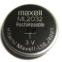 MAXEL ML2032 RECHARGEABLE BUTTONCELL 3V