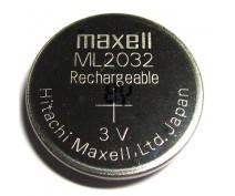 MAXEL ML2032 OPLAADBARE KNOOPCEL 3V