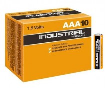 10 x DURACELL INDUSTRIAL (Procell) MN2400 LR03 AAA