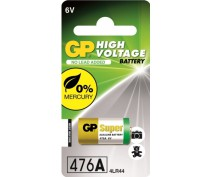 Alkaline batterij  GP476A,px28a,LR44