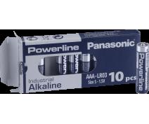 10 PIECES AA PANASONIC POWERLINE INDUSTRIAL LR06AD