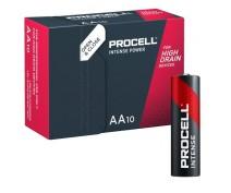 10 PIECES PROCELL INTENSE LR06, MN1500, AA ALKALINE