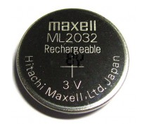 MAXELL ML2032 RECHARGEABLE BUTTONCELL 3V